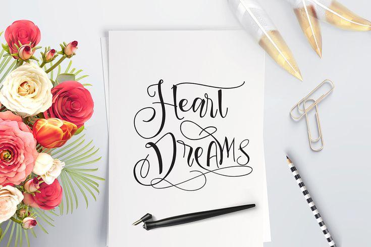 Sweetline Typeface by Dirtyline Studio on @creativemarket