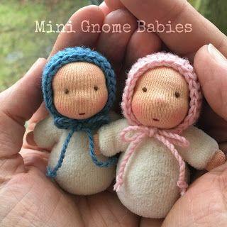 Pflanzenfaerberin * Isle of Fae dolls * Taschenpüppchen - pocket dolls