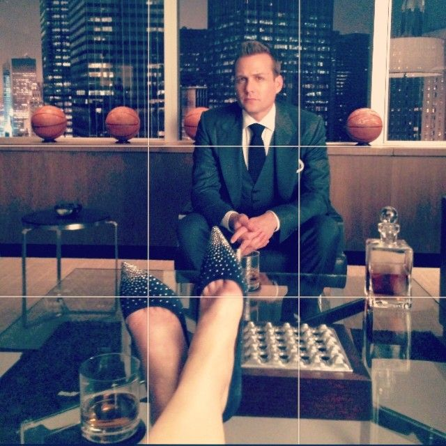 The classiest. #HarveySpecter - #Suits. Photo cred: Sarah Rafferty