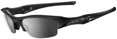 Oakley Flak Jacket Sunglasses with Jet Black Frame and Black Iridium Lens