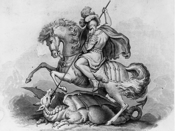 April 23 marks the saint's day of England's patron saint St George. English schoolchildren are always taught that he was a knight who slayed dragons but is there more to the historical figure? Who was he? According to legend, St George was a Roman soldier born in what is now modern-day Turkey in around 280AD and died around 303. Very little is known about his early life but itis believed he was born to a wealthy Christian noble family.