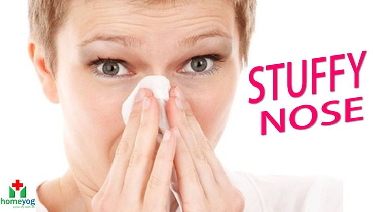 How To Naturally Get Rid Of A Stuffy Nose