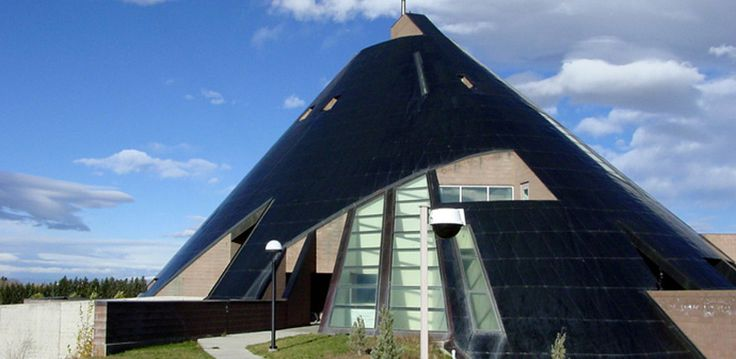 The American Heritage Center and Art Museum at the University of Wyoming (1993) by Antoine Predock   ahc_bldg1.jpg (781×381)