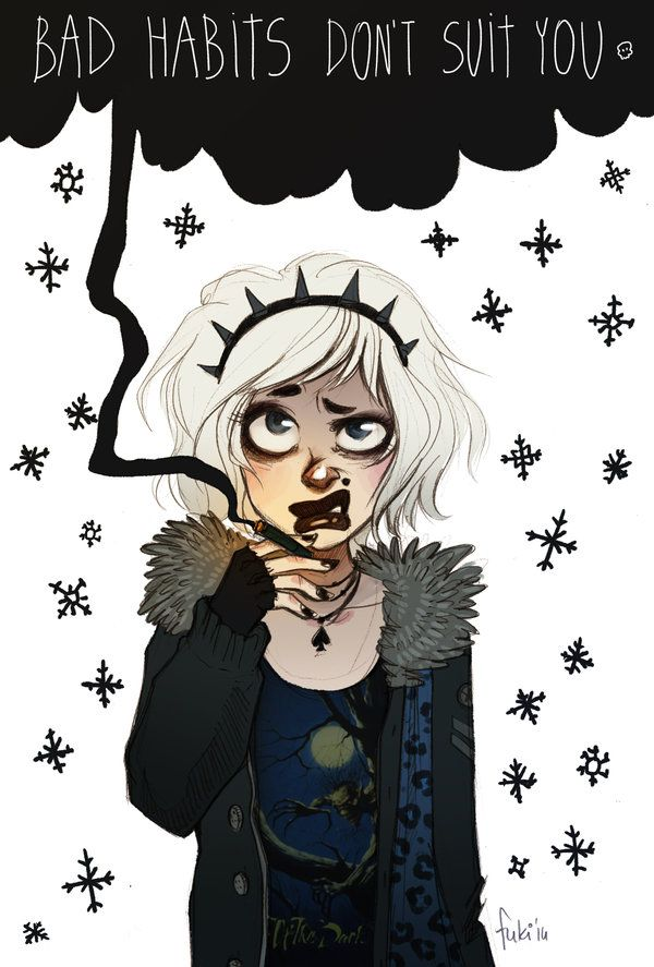black snow by Fukari.deviantart.com on @deviantART
