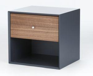 The Box Modul Medium 1 Skuffe 39cm. Elegant nattbord med 1 skuffe som kan henges på vegg. Stort utvalg av forskjellige utgaver på vår nettbutikk!
