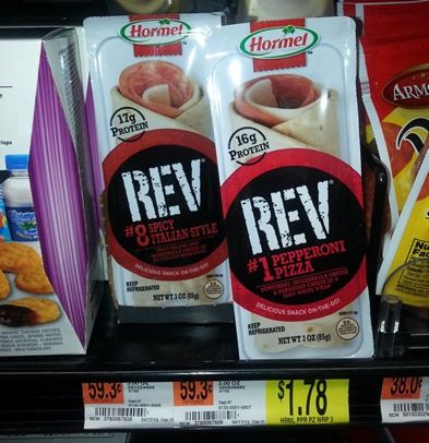 Hormel Rev Snacks just $1.28 at Walmart!