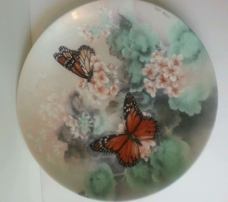 """Monarch Butterflies"" by Lena Liu, #6417, Xerces Society, Bradex 84-G20-3.1 Off to a new home! Yolanda@YKP"