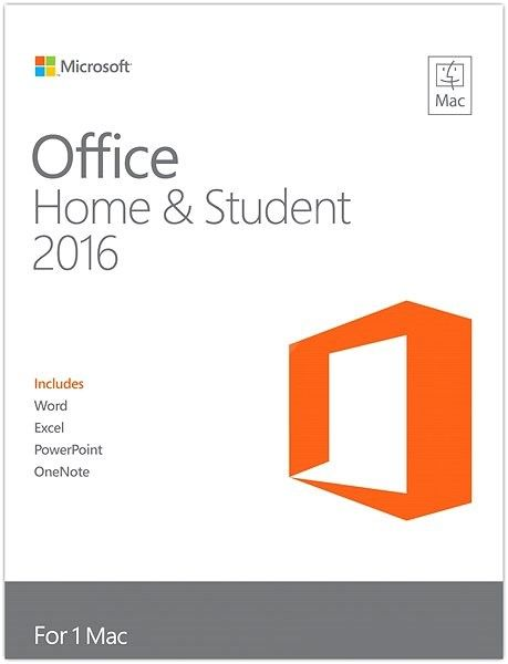Microsoft Office Home and Student 2016 pro Mac