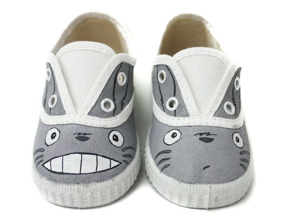 Zapatillas Totoro by www.pimpamcreations.com