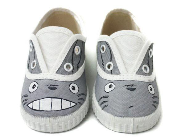 Zapatillas Totoro by www.pimpamcreations.com