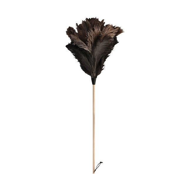 A very chic feather duster–now you can finally replace that Swiffer