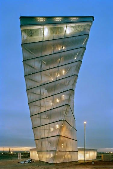 Incredible Pictures: BBI Info Tower, Berlin