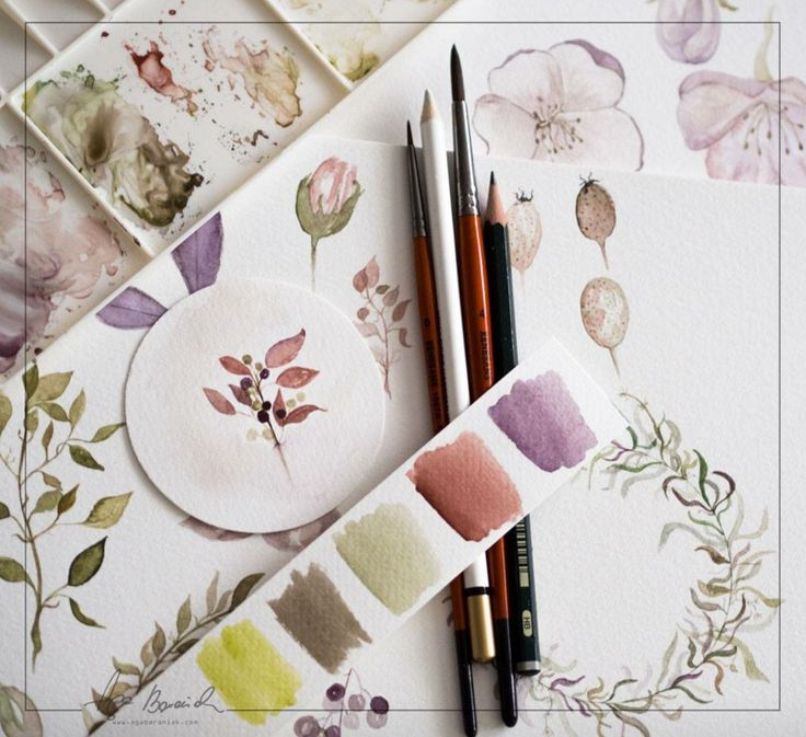 My new watercolors graphics