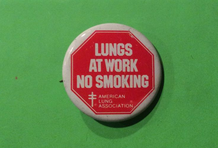 tobacco smoking and american lung association For the past 30 years, i've been fighting for lung health with the american lung association our organization has been a leader in the battle against tobacco.