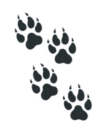 tribal wolf paw - Google Search