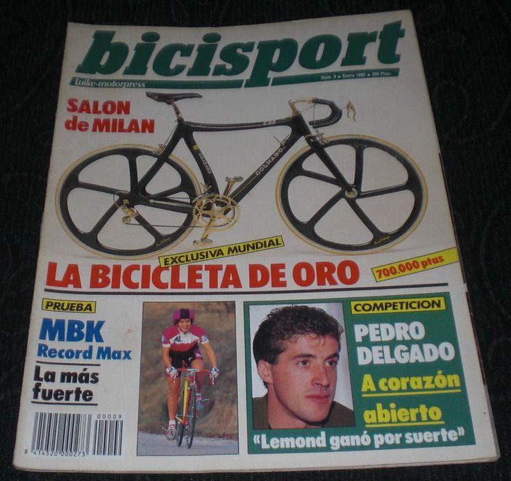 Revista Ciclismo Bicisport N 9 Enero 1990