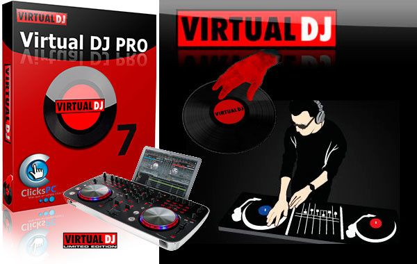 Virtual DJ v7.4 PRO + Crack + Patch + Keygen Full Download