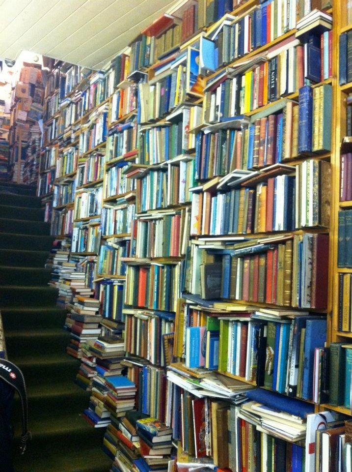 Bookshop in Eastbourne, England.