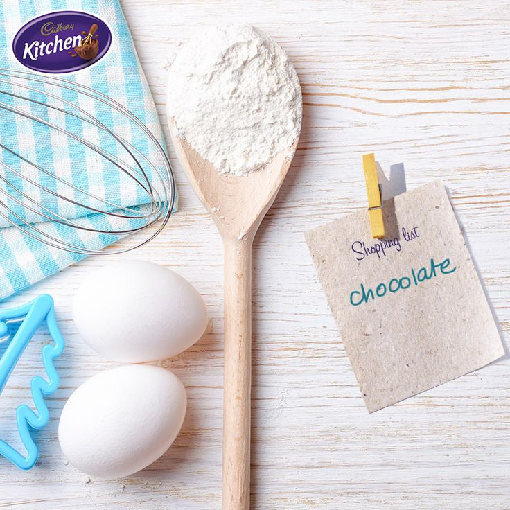 My number one Christmas baking tip? Make a list and check it twice! The last thing you need on the big day is to run out of ingredients like delicious CADBURY chocolate.  #desserts #baking #preparation #chocolate #CADBURY #christmas #christmasbaking