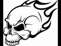 skulls with flames drawings - Yahoo Image Search Results