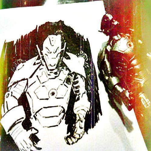 #Drawing #Dibujo #Ultron #Marvel #Toys #BlancoyNegro #Fotografía #PecariEstudio #Ilustración #CarlosBenitez #Cómics