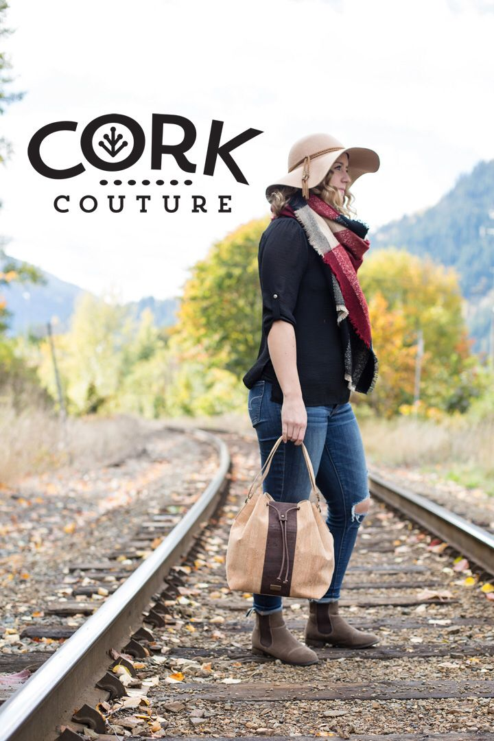Cork bucket bags are durable, hypoallergenic and stain resistant.  www.corkcouture.ca