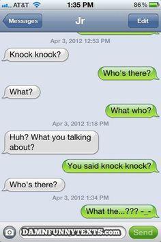 knock knock jokes - Google Search