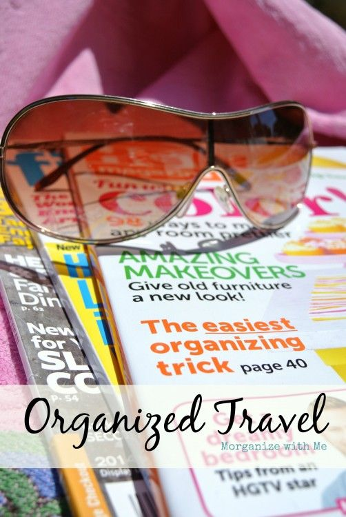 Travel Organizing - what you need to do and what you don't need to do.