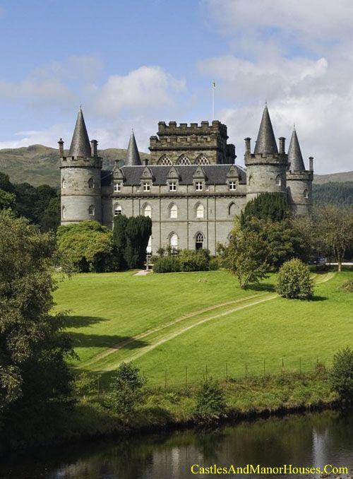 Inveraray Castle, near Inveraray, Argyll, western Scotland - www.castlesandmanorhouses.com