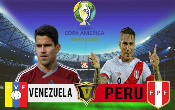 Venezuela Vs Peru Copa America 2019 Live Streaming Who Will Win Venezuela Vs Peru Venezuela Peru Live Streaming