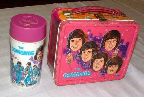 1970s THE OSMONDS LUNCHBOX AND THERMOS