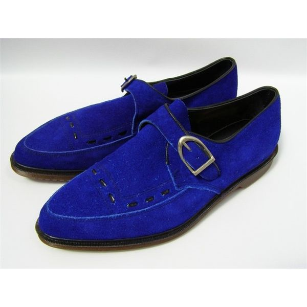 I wonder what Elvis Presley would make of these blue suede ...