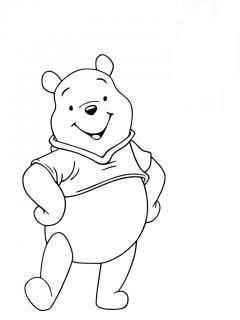 1000 images about coloriages winnie l 39 ourson on pinterest disney coloring and rabbit tattoos - Coloriage winni l ourson ...