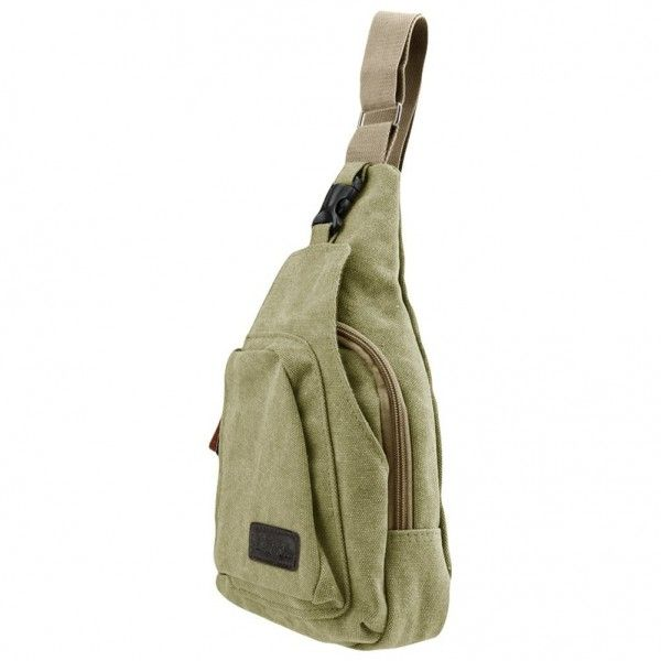 4d3ef430e3d SlickBlue Casual Canvas Backpack Crossbody Sling Bag Shoulder Bag Chest Bag  For Men - Army Green - CL12BX7NMOV - Men's Bags, Crossbody Bags #bagsformen  ...