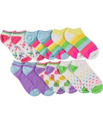 """Esprit """"Brighten Up"""" 6-Pack Low-Cut Socks (Sizes 6 - 8) - colors as shown, 6 - 8 ESPRIT. $3.99"""