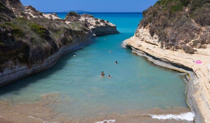 Sidari and Canal d'Amour in Corfu