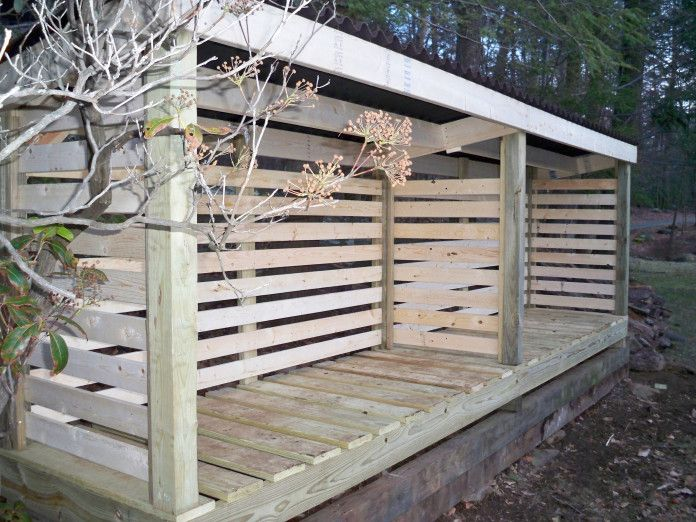 Planning done, materials purchased. Done by 10/15 and then a wood-moving party, with a bonfire! firewood storage shed pictures