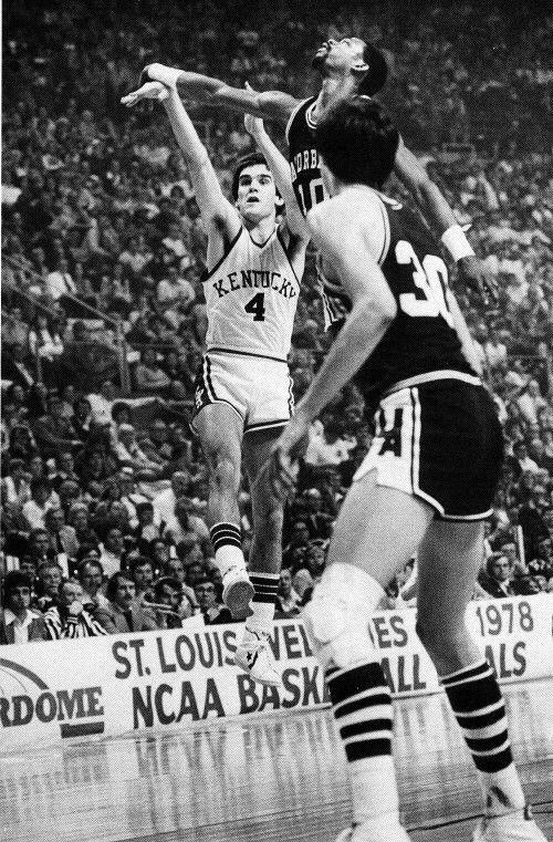 Kyle Macy v Arkansas 1978 NCAA Final 4