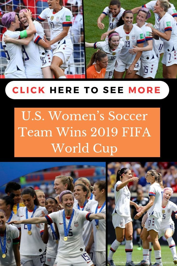 U S Women S Soccer Team Wins 2019 Fifa World Cup Celebrity Models Wtf Fun Facts World Cup Trophy Fifa World Cup