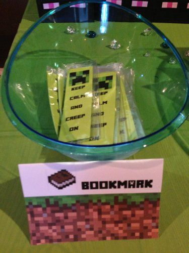 94 Best Michael S Minecraft Birthday Party Images On Pinterest