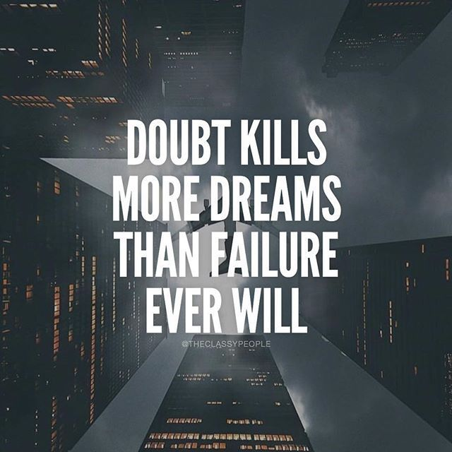 Inspirational Quotes About Failure: Best 25+ Doubt Quotes Ideas On Pinterest