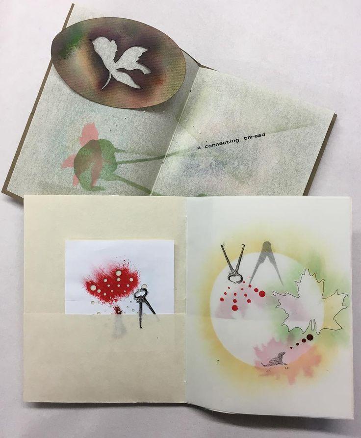 Artistbooks Ideas: @in_cahoots_press Instagram