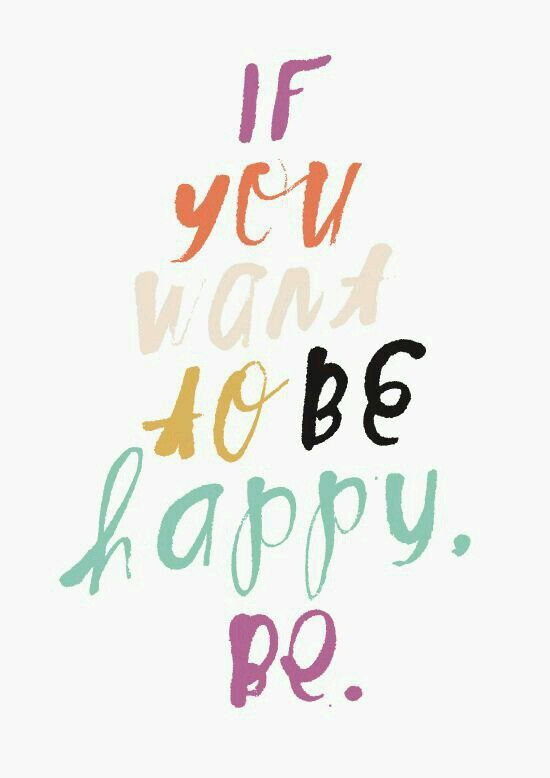 Simply be....