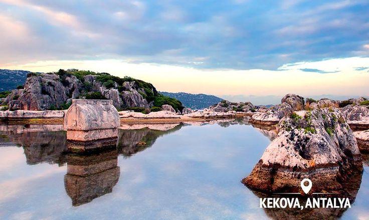 Island of #Kekova and Sunken City in #Antalya #Turkey