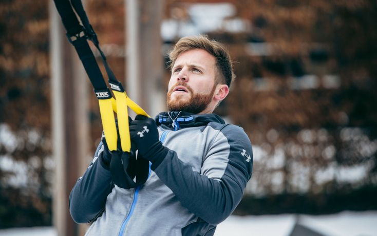 Whether you've used one before or not, chances are you've probably seen one of these black and yellow strap apparatuses hanging in your gym or at a local studio. It's called the TRX® Suspension Trainer™.