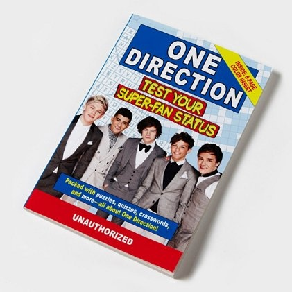 Be ready to test your 1D super-fan status with a One Direction Book on hand @Monique Willis Christmas perhaps?:)