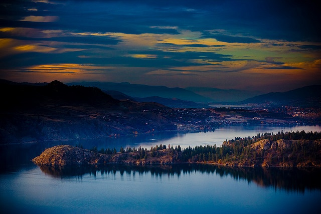 Okanagan...Jon is from here. I hope I get to go to Canada this summer with him!