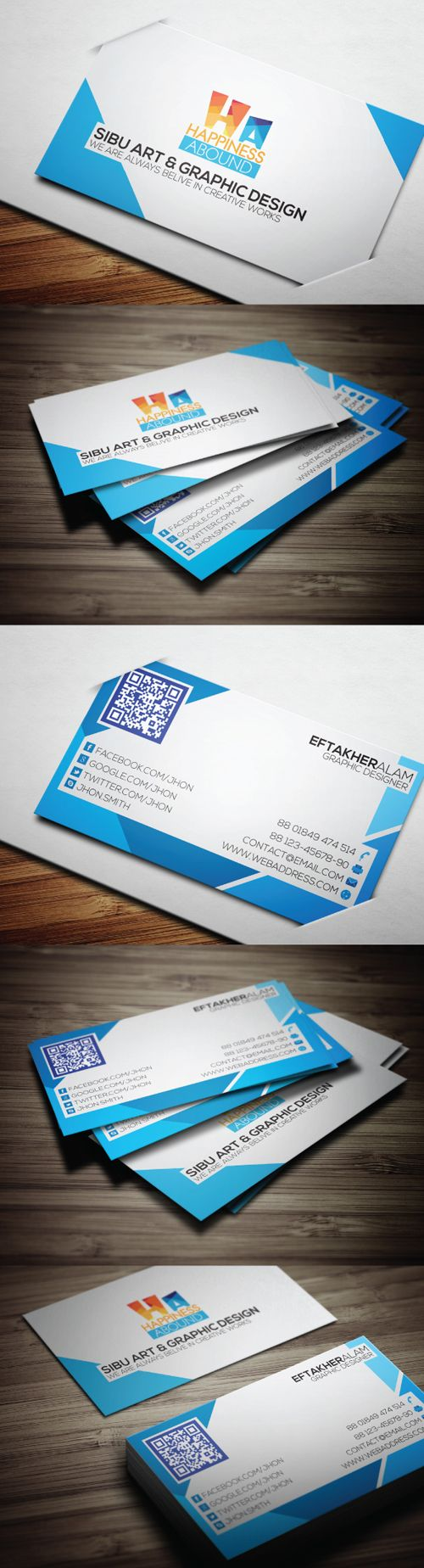 648 best cool business cards images on pinterest fonts arrows creative pro business card template magicingreecefo Choice Image