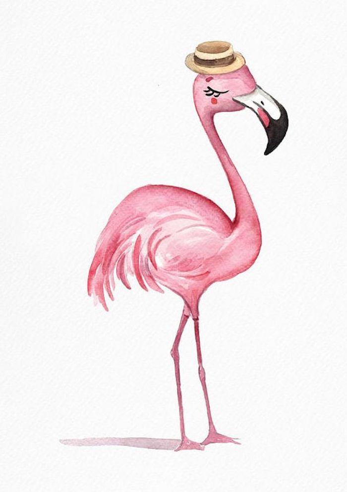 картинки мультяшного фламинго брюк