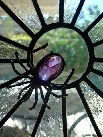STARSHINE CHIC : Spider Web Window